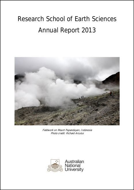 2013 RSES Annual Report