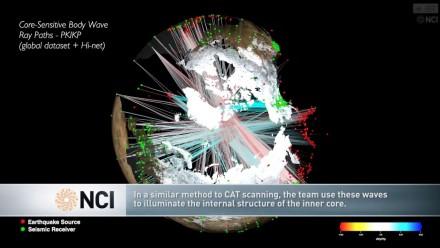 Quakes illuminate Earth's inner core