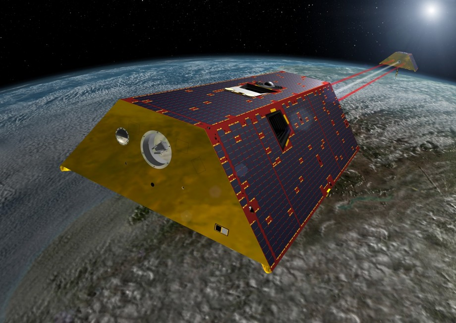 GRACE-FO satellites